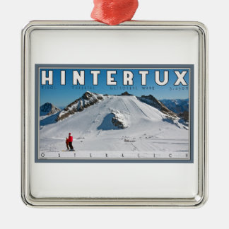 Hintertux - the Gefrorene Wand Christmas Ornaments