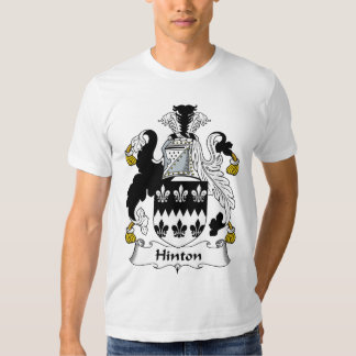 Hinton Family Crest Tee Shirts