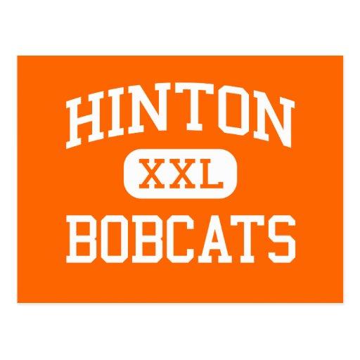 Hinton - linces - alto - Hinton Virginia Occidenta Tarjetas Postales