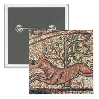 Hinton St. Mary pavement  c.350 AD 2 Inch Square Button
