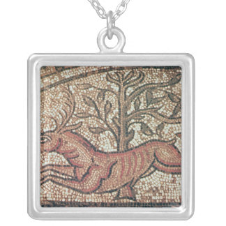 Hinton St. Mary pavement  c.350 AD Silver Plated Necklace