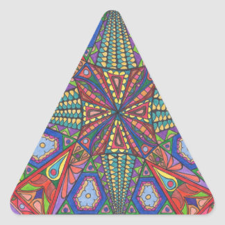Hints Design Triangle Sticker