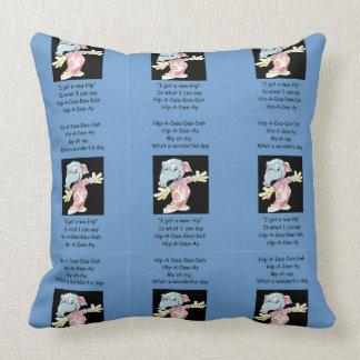 Hip-A-Dee-Doo-Dah Throw Pillow