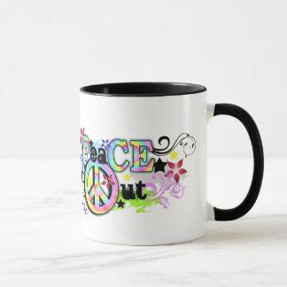 Hip and Groovy PeaCE OUT Mug