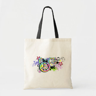 Hip and Groovy PeaCE OUT Tote Bag