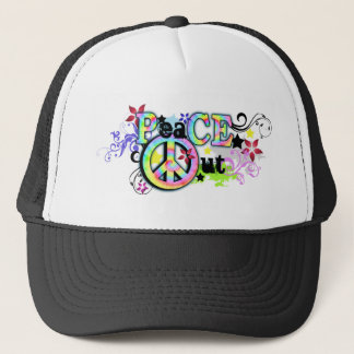 Hip and Groovy PeaCE OUT Trucker Hat