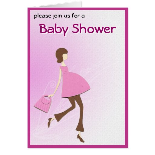 hip baby shower invitation greeting card zazzle
