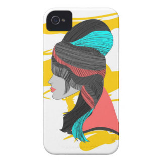 Hip Beehive iPhone 4 Case-Mate Case