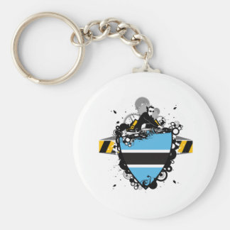 Hip Botswana Keychain