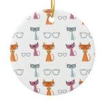 Hip Cats Ornaments