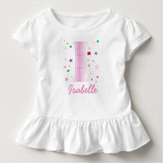 Hip Chic Baby Girl Custom Name Initials Letter I Toddler T-shirt