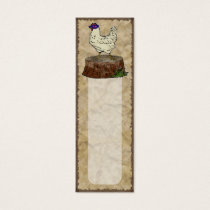 Hip Chicken, bookmark pack or business cards