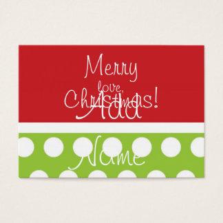 Hip Christmas Gift Tags