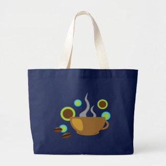 Hip Coffee Art Canvas Bag