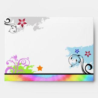 Hip Colorful 'N Groovy Envelope