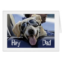 "HIP DOG SAYS ""HEY DUDE HAVE A COOL *FATHER'S DAY* CARD"