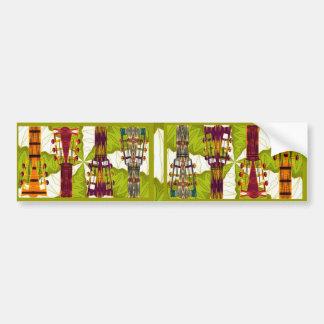 Hip Guitar Bumper Sticker