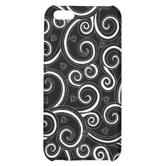 Hip Happy Mod Swirl iPhone 4 cover