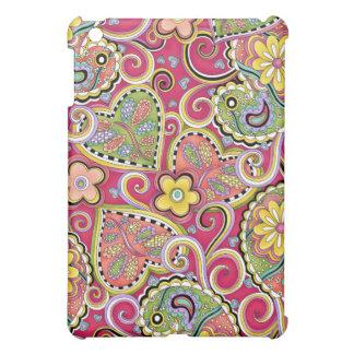 hip Happy Paisley Pink cover for original iPad iPad Mini Cases
