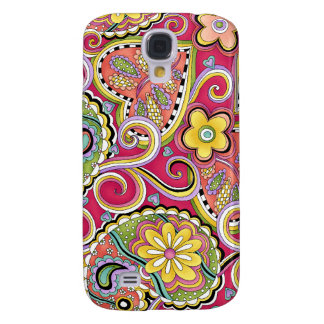 Hip Happy Paisley Pink iPhone 3 cover