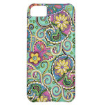 Hip Happy Paisley Teal iPhone 5 Cover