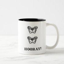 Hip Hip Hooray Anatomy Message Mug