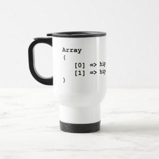 Hip Hip Hooray Programming Array Travel Mug