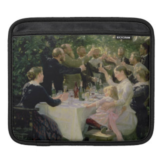 Hip Hip Hurrah! Artists' Party at Skagen, 1888 Sleeve For iPads