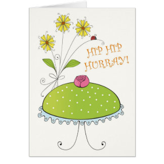 Hip Hip Hurray! Card