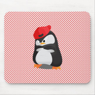 Hip Hop Angry Penguin Mousepad
