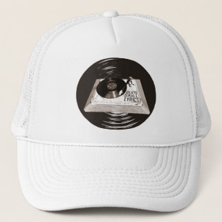 HIP HOP BEATS SKILL LYRICS ON TURNTABLE TRUCKER HAT