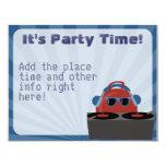Hip Hop Bouncy Ball DJ Party Invitation