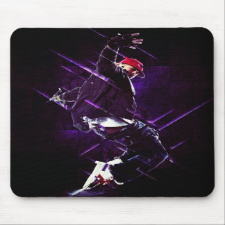Hip hop breakdance mouse pad