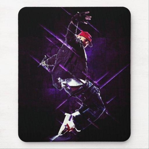 Hip hop breakdance tapete de ratón