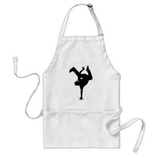 Hip hop breakdancer adult apron