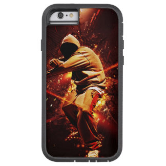 hip-hop breakdancer on fire tough xtreme iPhone 6 case