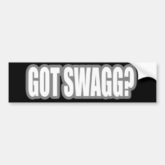 HIP HOP BUMPER STICKER