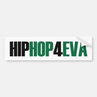 Hip Hop Bumper Sticker Car Bumper Sticker