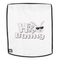Hip Hop Bunny Face Funny Easter Kids Boys Girls Backpack