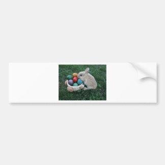 HIP HOP BUNNY v.1 Bumper Sticker