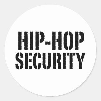 Hip Hop Classic Round Sticker