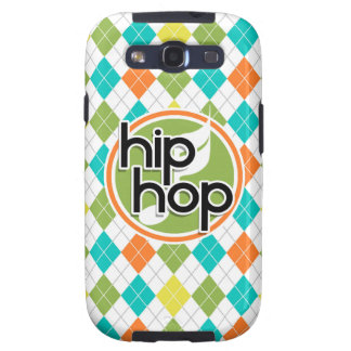 Hip Hop; Colorful Argyle Pattern Samsung Galaxy SIII Cases