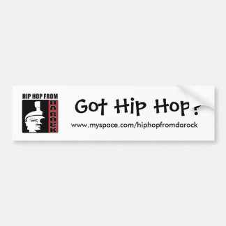 ¿Hip Hop conseguido? Pegatina Para Auto