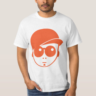 Hip Hop, Cool head with baseball hat T-Shirt