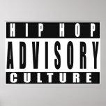 HIP HOP Cultura Póster