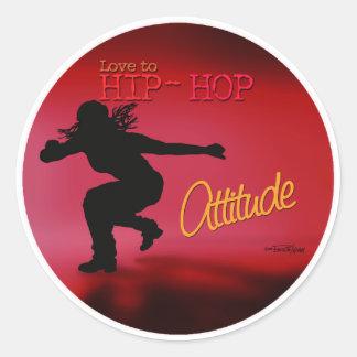 Hip Hop - Dance Attitude sticker