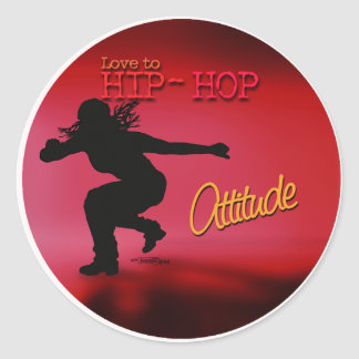 Hip Hop - Dance Attitude stickers