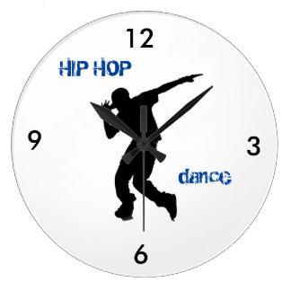 HIP HOP Dance Clock