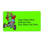 Hip Hop Dance Custom Shipping Labels