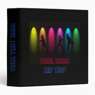 Hip Hop Dance Girls on Stage Binder